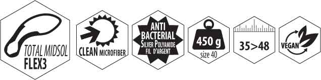 microfibre du chausson anti ssalissure